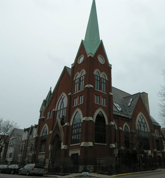 Praise the Lord and cancel the college fund: Another Lake View church conversion