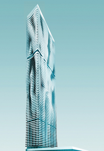 Lakeshore East's Aqua is a long drink of water