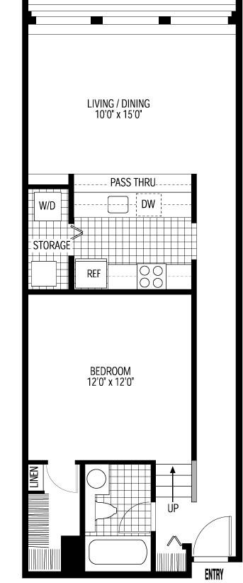 Chicago rent barometer: Printer's Row for around $1,200