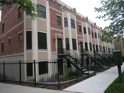 Townhouses on Ridge Blvd open themselves up in more ways than one