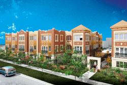Fletcher Row townhome development opens sales