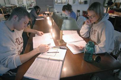 Cudahy Library at Loyola University Rogers Park campus
