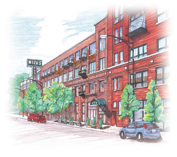 New Timber Lofts brewing in River North