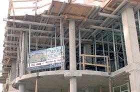 The new condo building Atelier