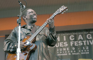 Lucky Peterson at the Chicago Blues Festival
