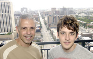 Brian Powers bought a condo for his son Justin in 1111 S. Wabash